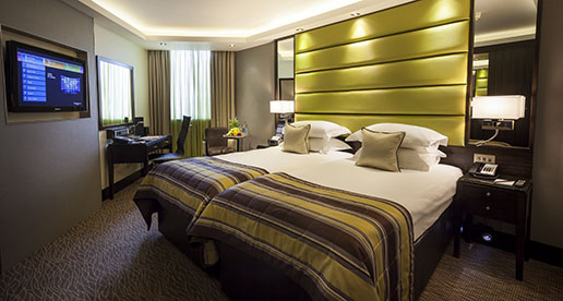 Montcalm Club Twin Room